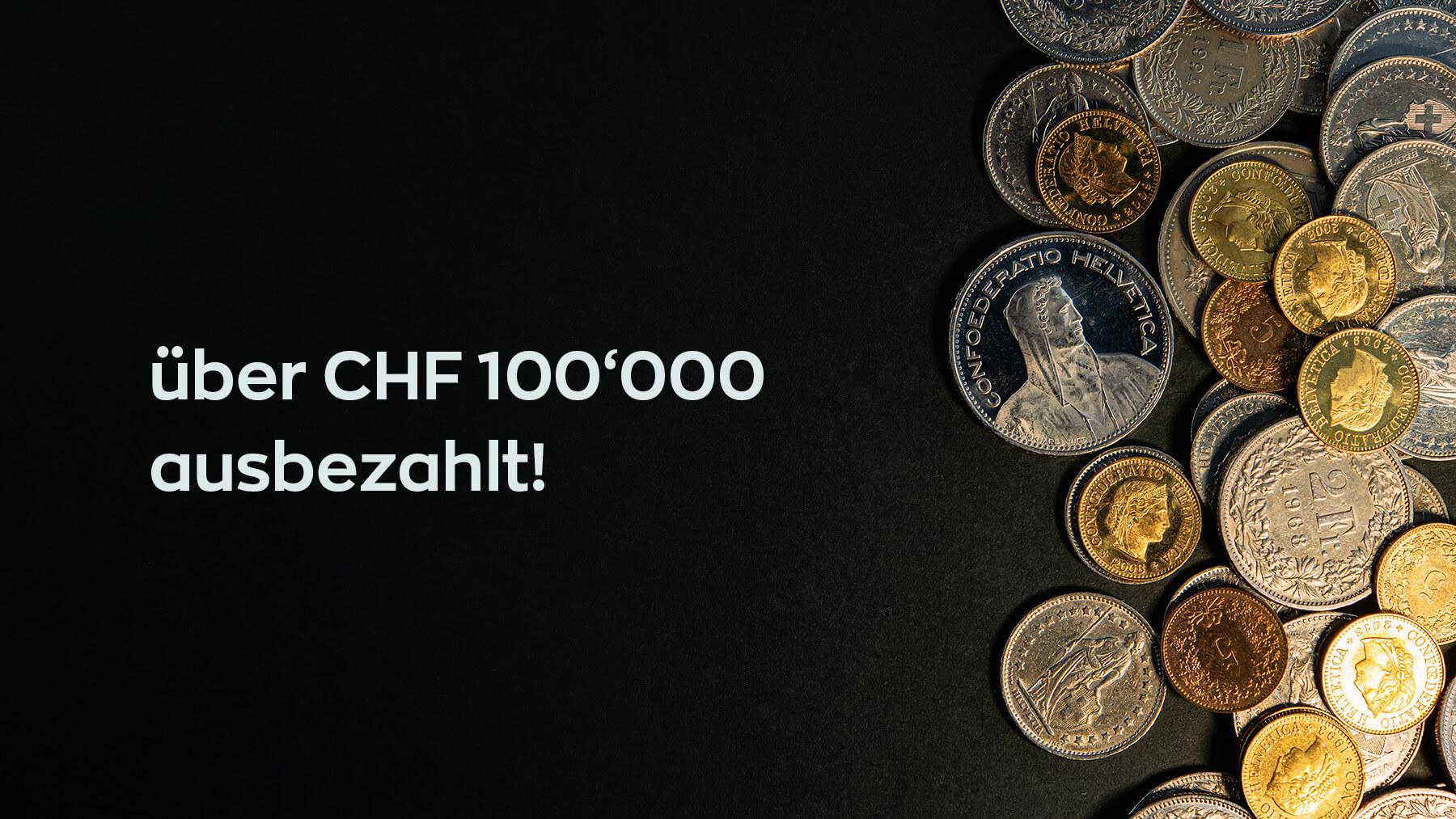 You are currently viewing 100'000er Grenze bei Renditeauszahlungen geknackt