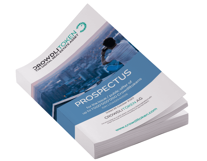Cover for prospectus download